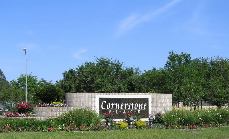 Cornerstone Place Entrance